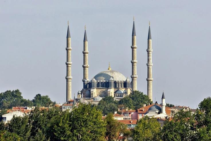 Selimiye Mosque Edirne Province Turkey
