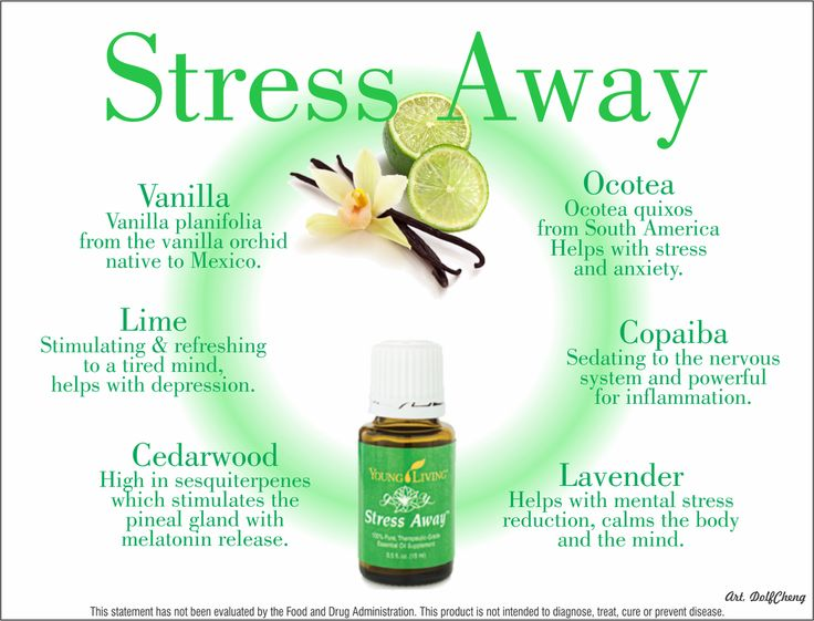 Young living essential oils stress away for more for Wohnlandschaft young living