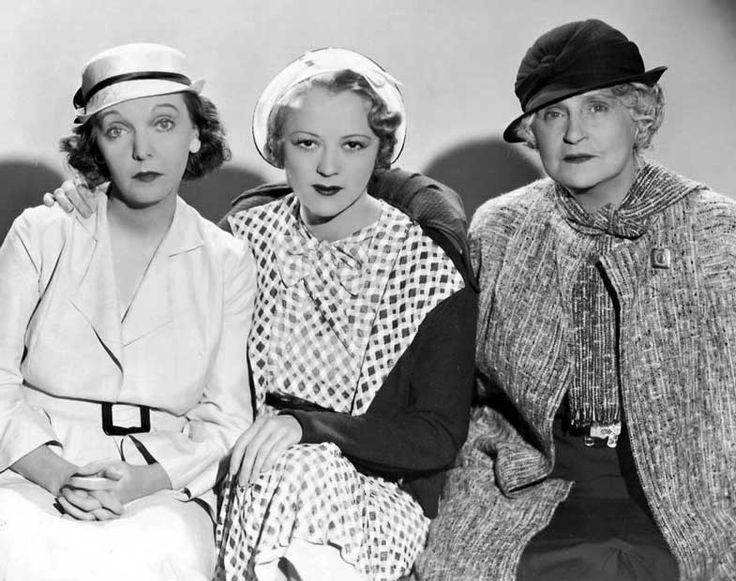 "ZaSu Pitts, Sally Eilers, Henrietta Crosman– ""Three on a Honeymoon"" 1936"