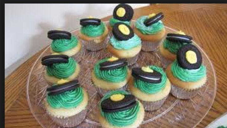 tractor cupcake idea