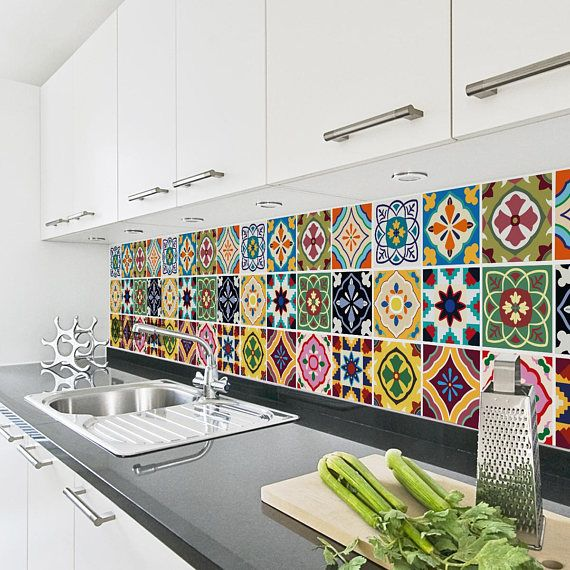 Hey, I found this really awesome Etsy listing at https://www.etsy.com/uk/listing/554945599/talavera-tile-decals-tile-stickers-set