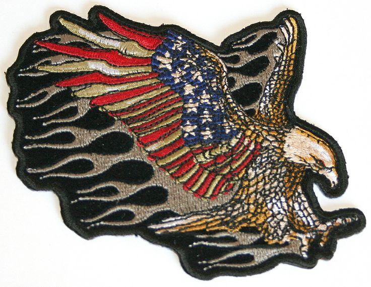 Parches moteros, productos americanos, USA, made in USA, parches bordados, aguila. Do it yourself. DIY. Customiza tus jeans, customiza tu ropa. www.usamericanshop.com