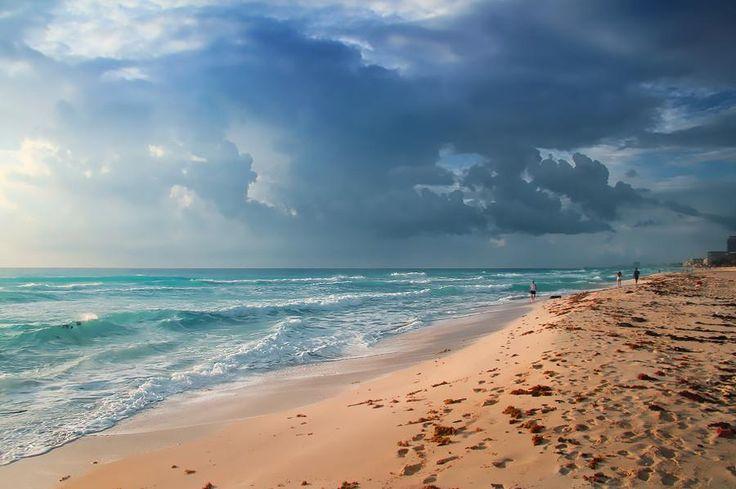 ¿Qué les parece el clima en Cancún? #clima #cancun #beachinautumn