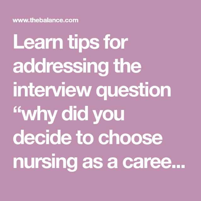essays on why i chose nursing as a career Your career gateway plan for your next career move this autumn as we move into the autumn, our events programme continues with our nursing times careers live events, which will help you plan your next career move in your professional development.