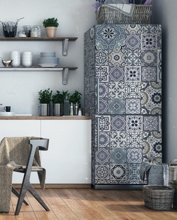 Find More Wall Stickers Information About Wholesale 3d Floor Tiles Pattern Selfadhesive Dishwasher Refrigerat Patterned Floor Tiles Cover Wallpaper Tile Floor