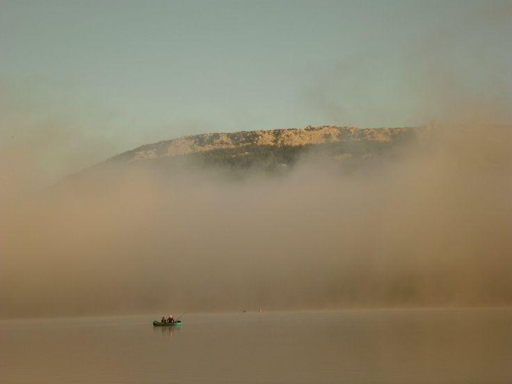 Утренний туман. 7:00