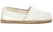 Witte Ugg schoenen Kas Canvas gympen