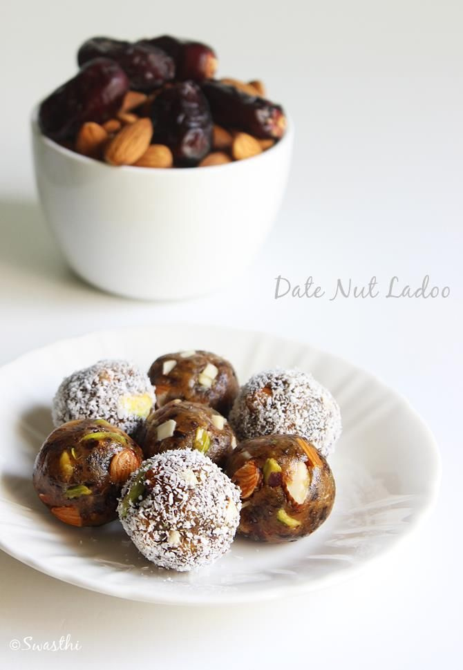 dates and nuts ladoo in 15 minutes  These ladoos are so easy to make that I almost make these twice a week in small quantities to pack in my kids' snack box for their school.  You can very much use your favourite nuts like walnuts, almonds, peanuts, pistachios and even seeds like pumpkin …