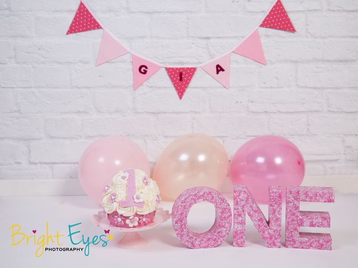 pink additions theme with personalised bunting +£18 (pre-order)
