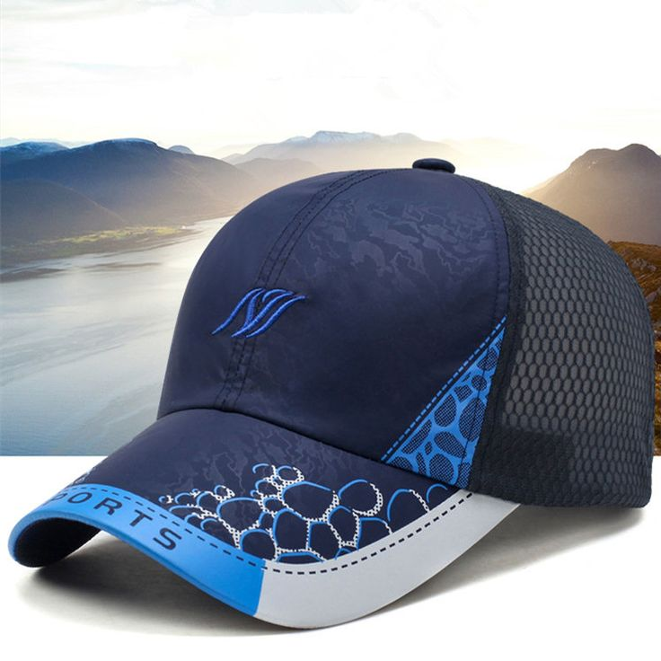 Men Women Ultra-thin Breathable Quick-drying Mesh Baseball Cap Outdoor Sports Casual Net Hat