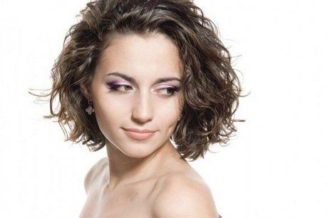Modele permanente cheveux courts Coiffure en 2019