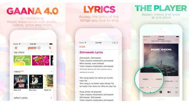 IT Tech Buzz: Gaana 4.0 App With Music Videos and Lyrics Now Ava...