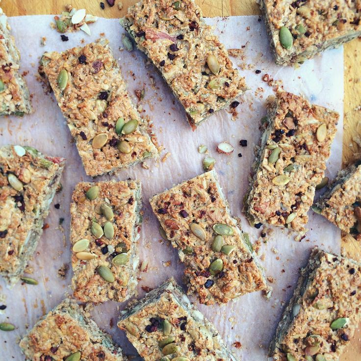 Honestly Healthy Muesli Bars (fruit free, fructose friendly & dairy free)