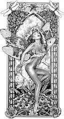 Tom Fleming-  Fairy art