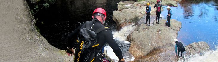Welcome to Africanyon | Guided kloofing, canyoning and abseiling adventures in The Crags, Plettenberg Bay, South Africa