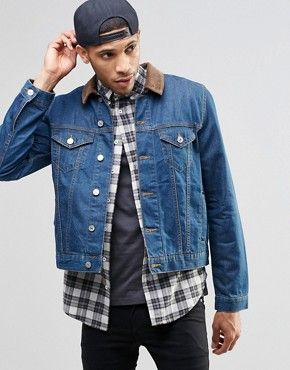 9 best Fall Fashion: A Dudes Guide to Styling a Denim Jacket Fall ...
