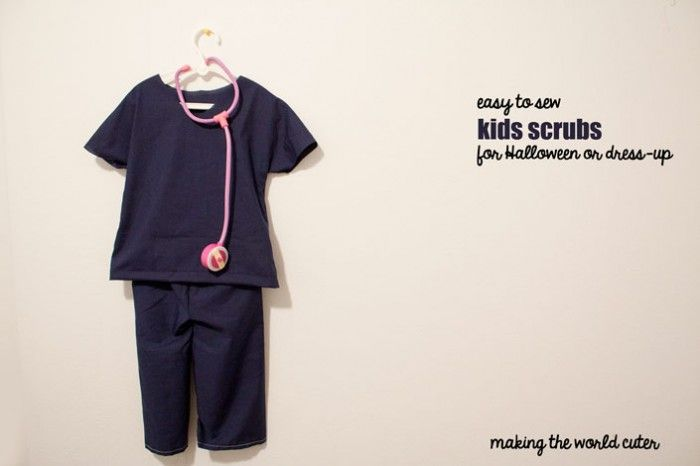 Easy to Sew Scrubs for Kids Making the World Cuter