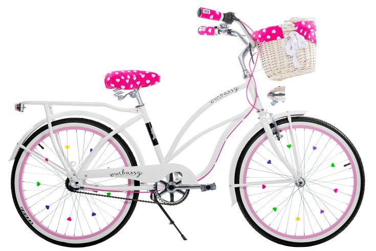 LILI bicicleta blanca para niña   Favoritebike