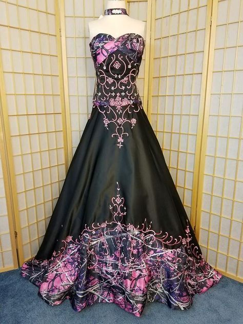 Muddy Girl Camo Wedding Dress Clothes Pinterest