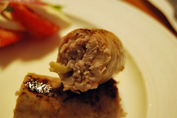 Apple Fennel Sausage - The Food in my Beard