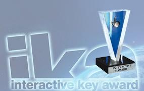 """iVision-Made si è aggiudicato il riconoscimento Interactive Key Award 2012 per la categoria """"Tecnologia e Innovazione"""" con il sito www.powerq.eu.  Un sentito ringraziamento a tutti i clienti, collaboratori e partner che ci hanno permesso di crescere e di ottenere questo fantastico riconoscimento, occasione di contronto con i big del nostro settore, con le nuove tecnologie e con le ultime tendenze della comunicazione.  Leggi l"""
