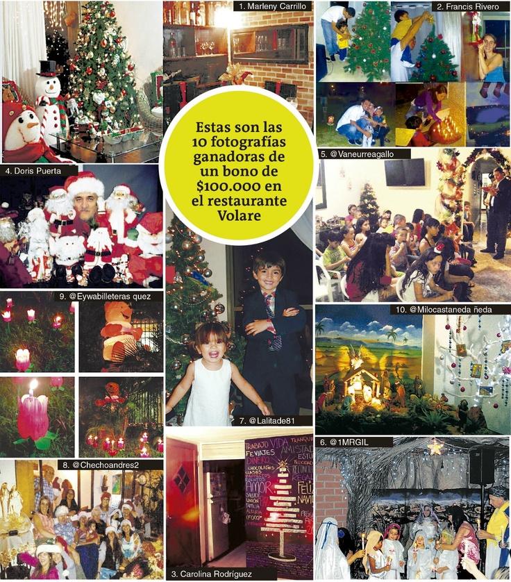 Así vivieron la Navidad los lectores de ZonaC. Publicado el 24 de diciembre de 2012.