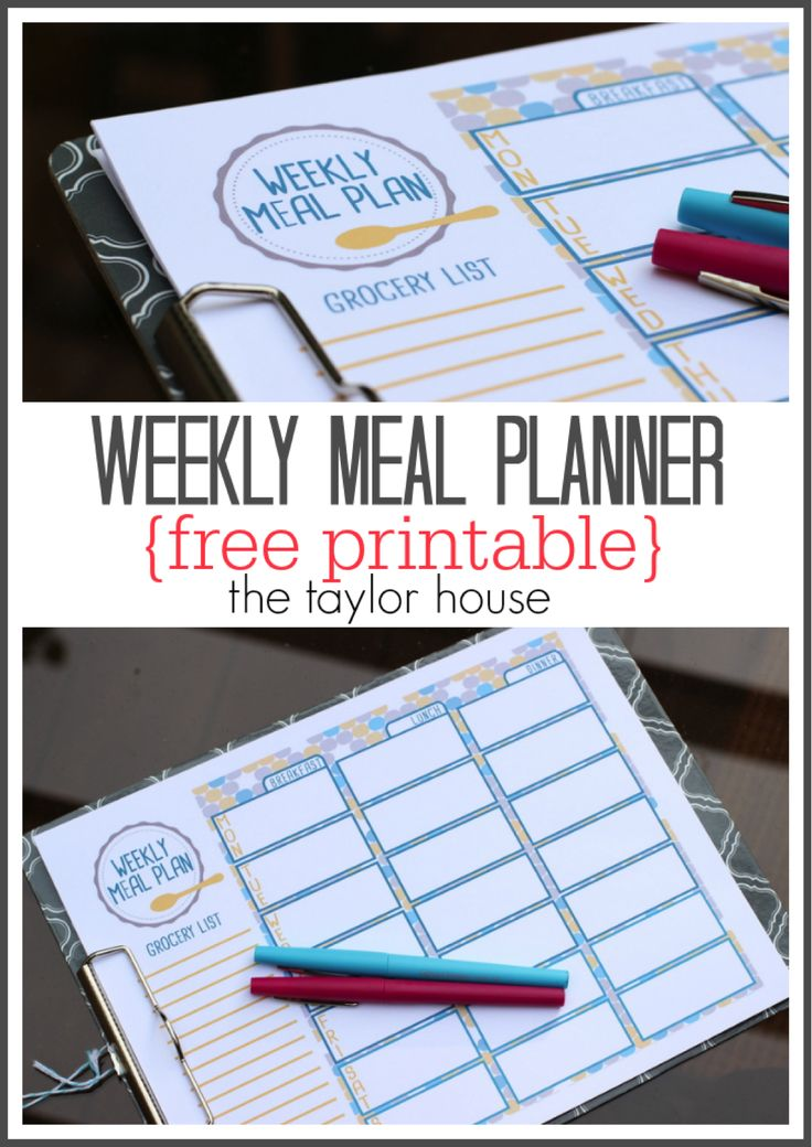 Lower your grocery bill and stick to your budget with this free printable meal planner and help from the Walmart MoneyCard Reloadable Prepaid Visa Card, part of the VisaClearPrepaid program. #AD