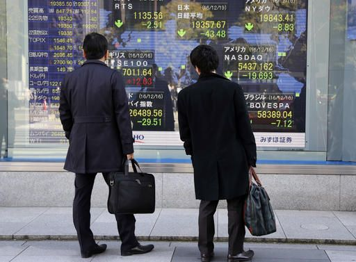 Dow to breach 20,000 today?  LONDON (AP)(STL.News) — Global stock markets traded in fairly narrow ranges Monday with most investors monitoring whether the Dow Jones industrial average will finally breach the 20,000 mark for the first time after sev...