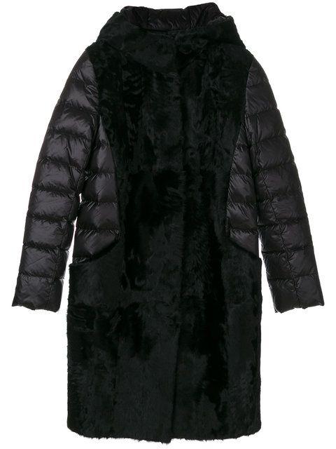 Liska padded sleeved coat