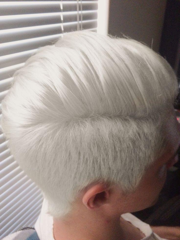 Best 25 Short White Hair Ideas On Pinterest White