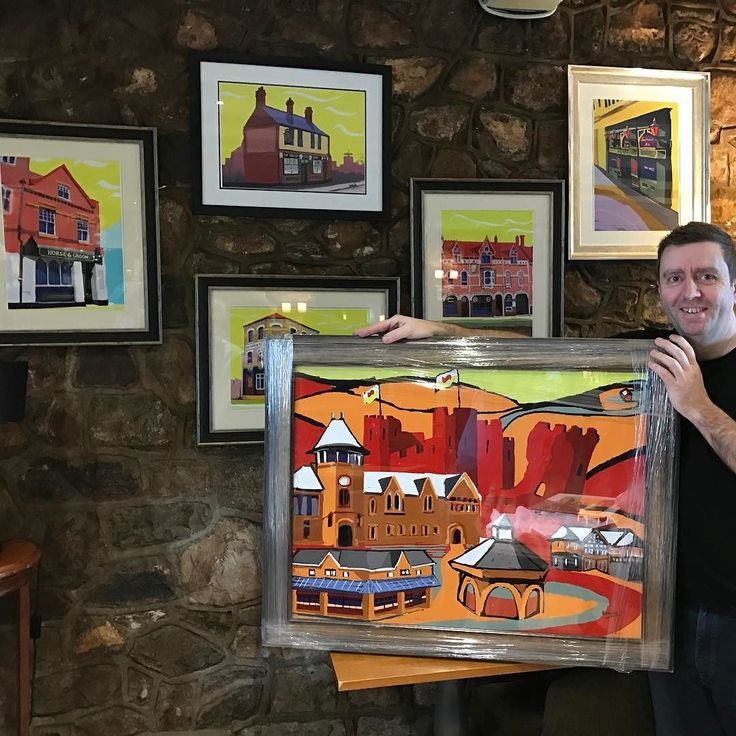 Thanks to James of the #Pantmawr Inn for his support for my #artwork. Having displayed my work as part of a #4Network meeting James noticed my artwork.  He subsequently ordered 22 framed signed prints for his three establishments the #BlackCock Inn & #TheButchersArms in #Llandaff.  The signed prints are part of a series of Cardiff pubs - past and present. Anyone have any stories associated with these pubs?  A journalist will be writing a report on this series in a few weeks so any fond…