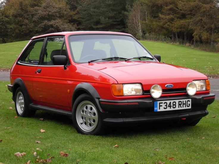 Ford fiesta xr2. 1989