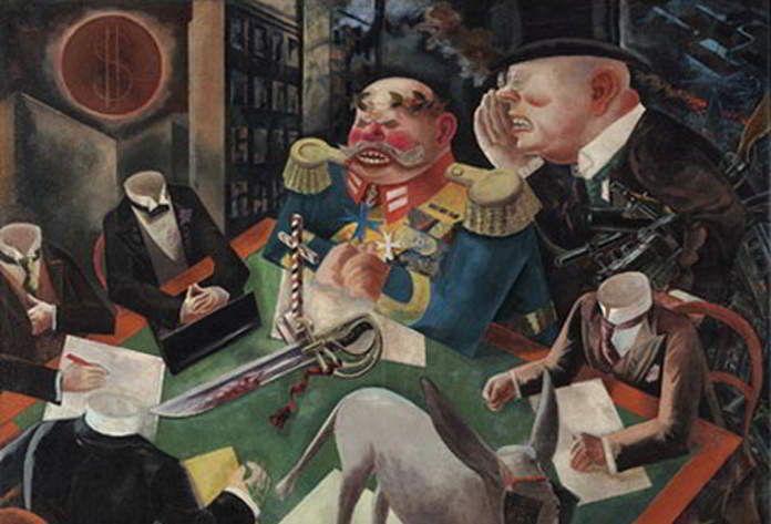George Grosz | Pittore, Storia