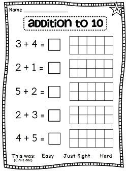 Soo many differentiated addition worksheets and literacy stations