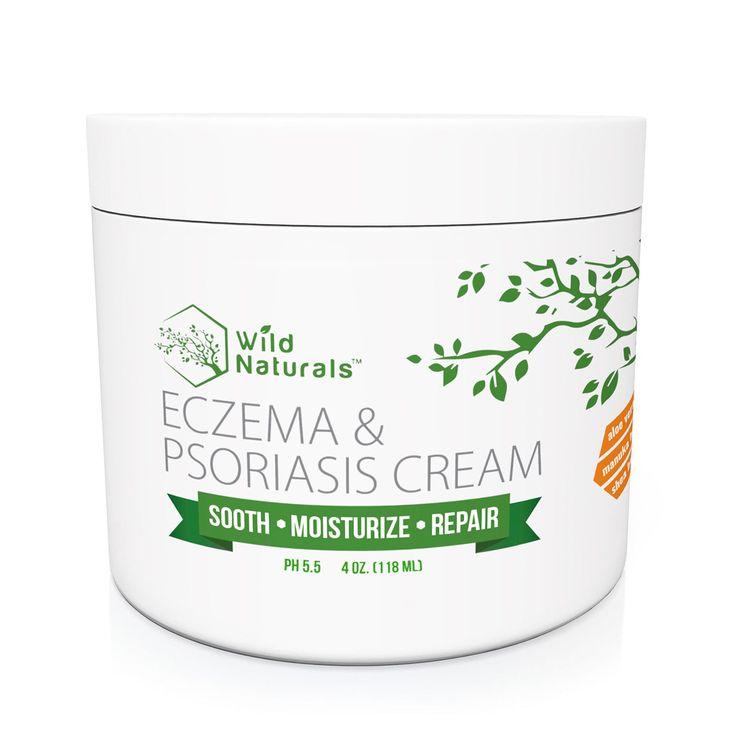 Wild Naturals Eczema & Psoriasis Cream 4oz
