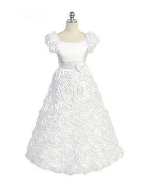 1st communion dress option for alexis