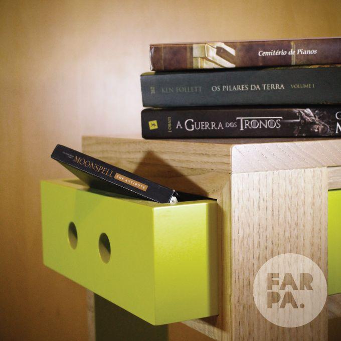 Bancos Gaveteiros Origem #farpa #gaveteirosorigem #wood #books