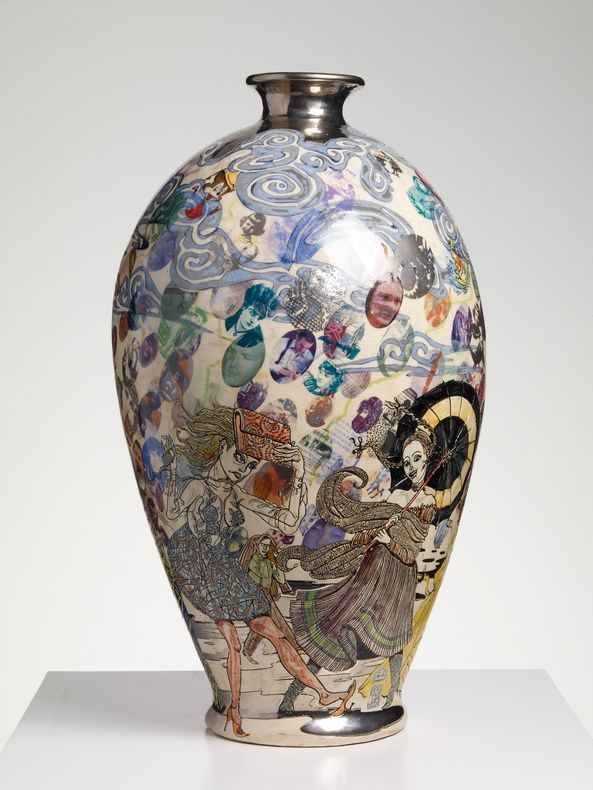 Grayson Perry | The Modern Condition, 2009 Glazed ceramic, 57 x 30 cm 22 1/2 x 11 3/4 in
