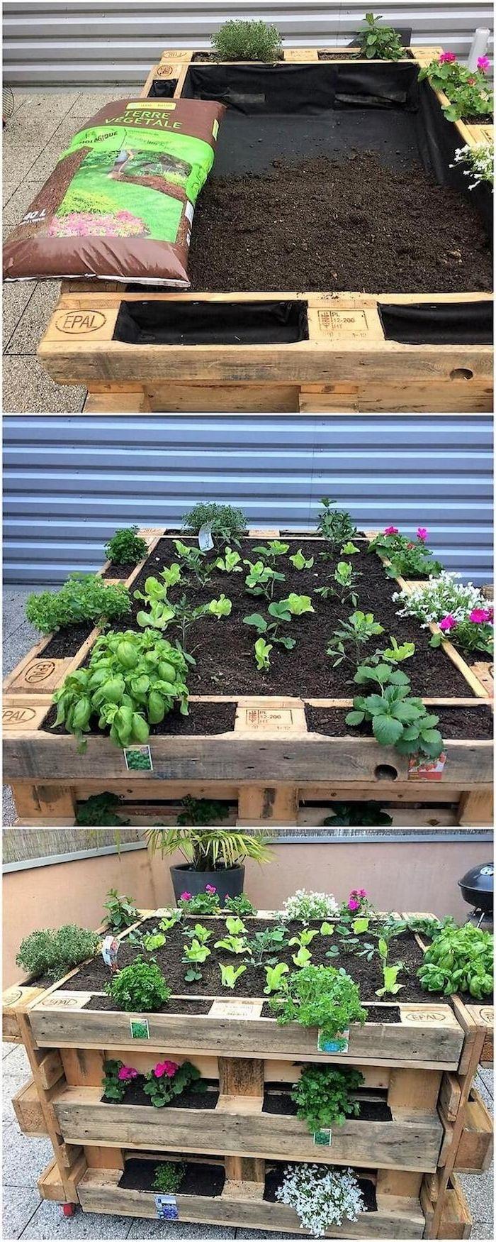Potager Murale Pour Tres Peu Place ▷ 1001 + idées diy pour fabriquer une jardinière ou potager