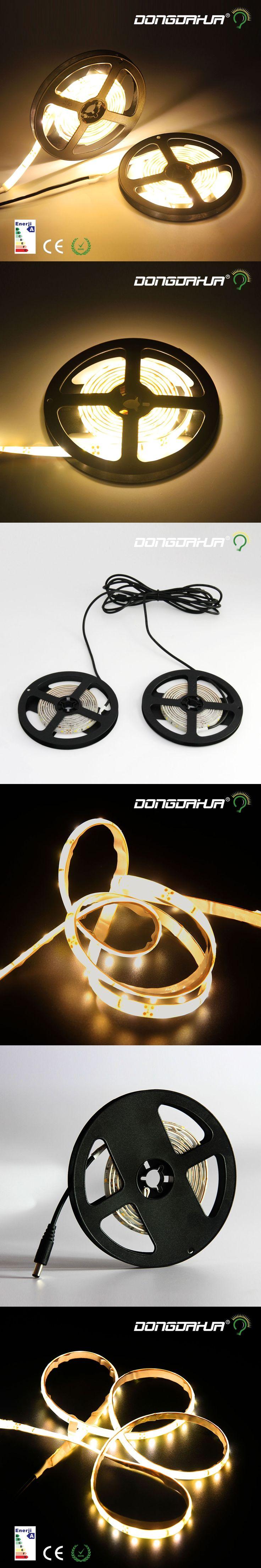1 pack high luminous flux 2835 smd 1.5 m led strip light brighter lowest price decorating lamp string ribbon Longevity