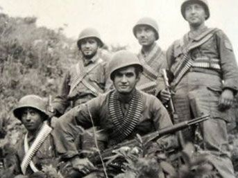 Turkish soldiers in Korea 1950's