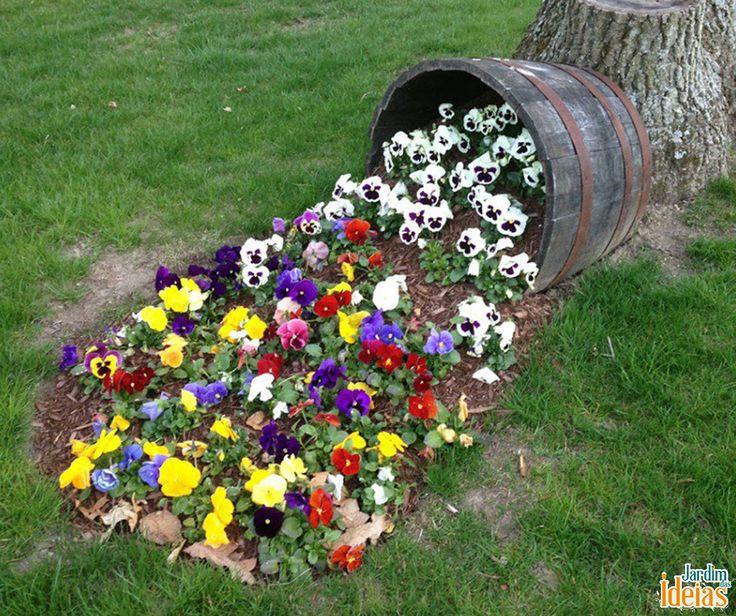 Fazer Um Jardim Bem Florido E Colorido? Você Pode Criar O Efeito De ~ Flores Para Um Jardim Colorido