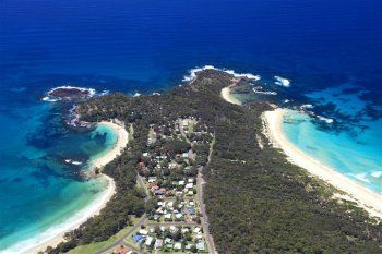 Go camping at Bendalong Point, near Mollymook on the South Coast of NSW Australia. There are a number of beaches to choose from, including the beautiful Green Island and Manyana. It's a short drive away from Lake Conjola and Lake Conjola Beach and Milton.