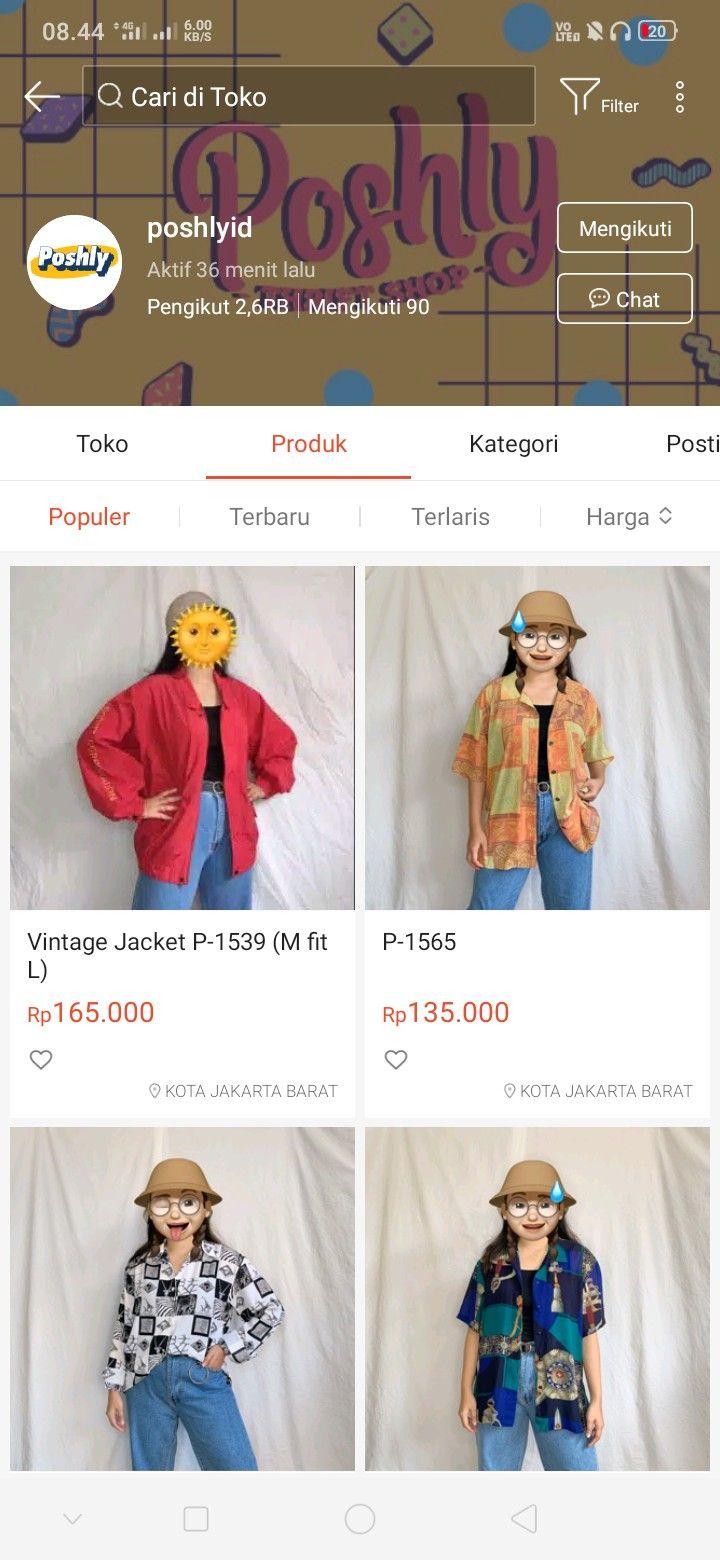 Online Shop Baju