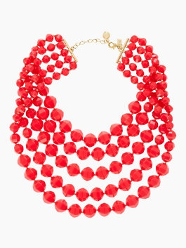 cut to the chase bib necklace