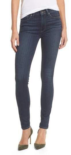 PAIGE Transcend - Hoxton High Waist Ultra Skinny Jeans #skinnyjeans #denim