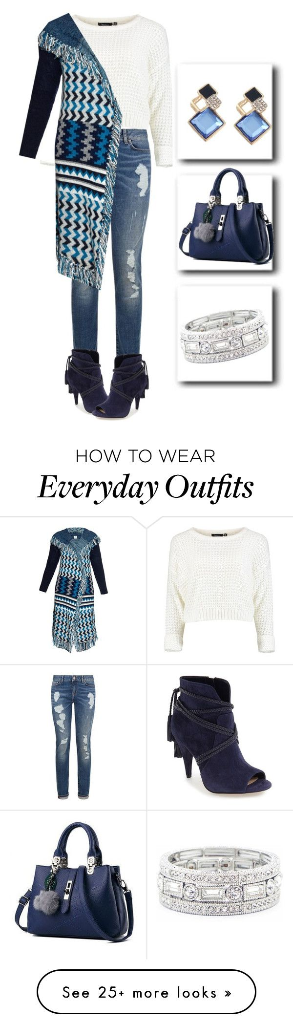 """Everyday outfit"" by lustydame on Polyvore featuring Tommy Hilfiger, Banjo & Matilda, miim, Vince Camuto and Sole Society"