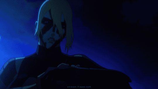 SP. 105    Psycho-Pass: The Movie (2015)    Portable Human Computer Interface.    Cyberpunk Anime & Cyberpunk Aesthetic