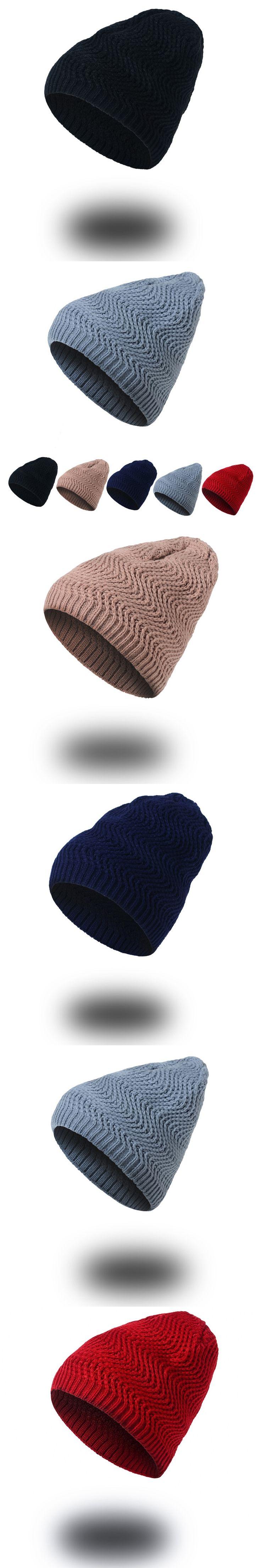 1pcsWoman's Warm Winter Cap Women Hats Knitted Beanie Hat for Men Gorros Casquette Homme Bonnet Femme Beanie Skullies Baggy Caps
