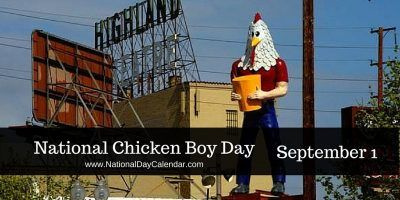 "Wish Chicken Boy a ""Happy Birthday"" #NationalChickenBoyDay"